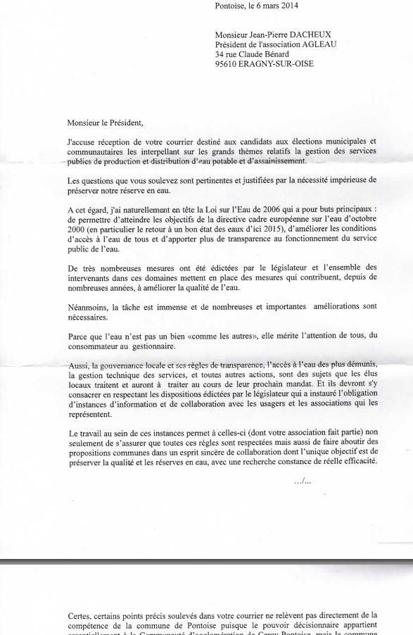 Reponse de Philippe Houillon