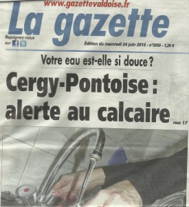 Gazette Alerte au Calcaire